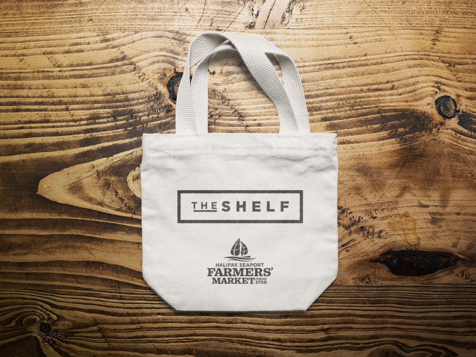 Shelf Tote Bag MockUp